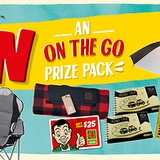Win an On the Go Prize Pack by Foursquare