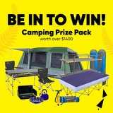 Win an Oztrail Camping PrizePpack