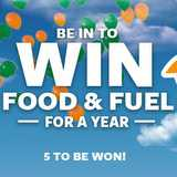 Win food and fuel for a year