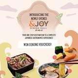 WinWin $30 &JOY Dining Hall Voucher